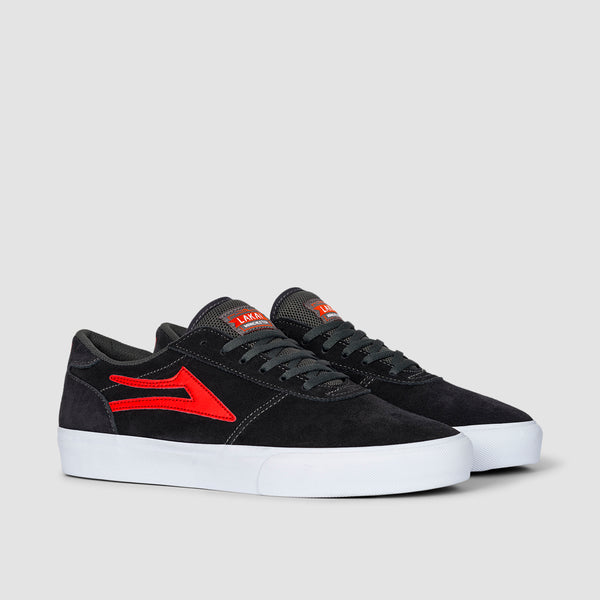 Lakai Manchester Charcoal/Flame Suede