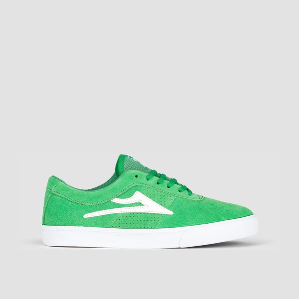 Lakai Sheffield Green Suede - Footwear