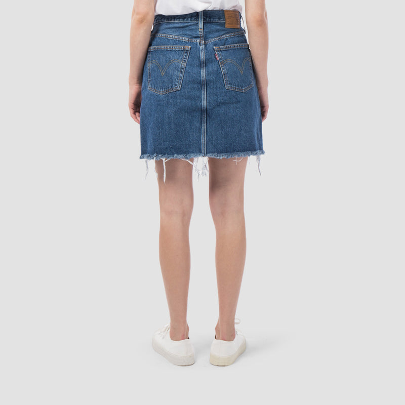 Levis HR Decon Iconic Bfly Skirt Meet In The Middle - Womens
