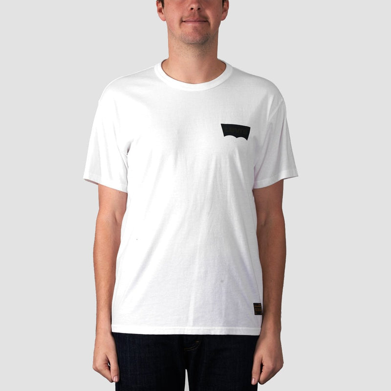 Levis Skate Graphic Tee LSC White Core/Batwing Black - Clothing