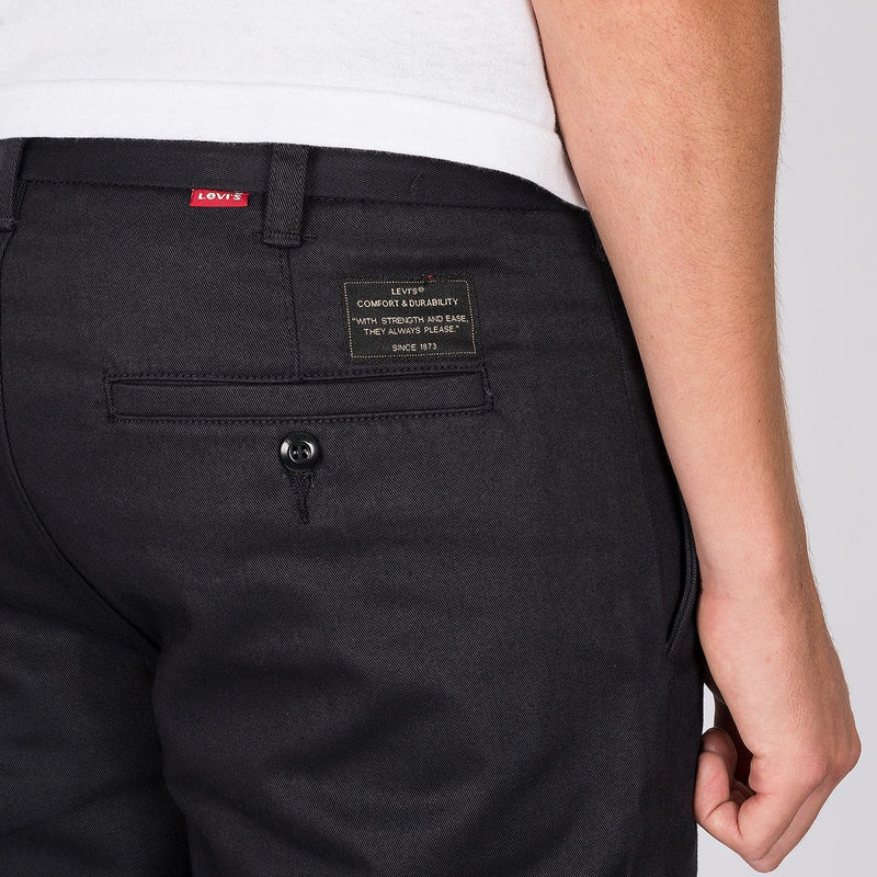 Levis Skate Work Pants Black Twill - Clothing