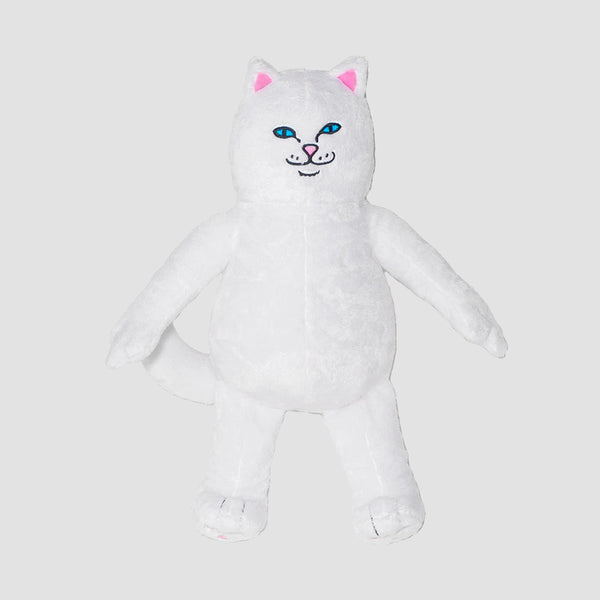 Ripndip Lord Nermal Plush Doll White