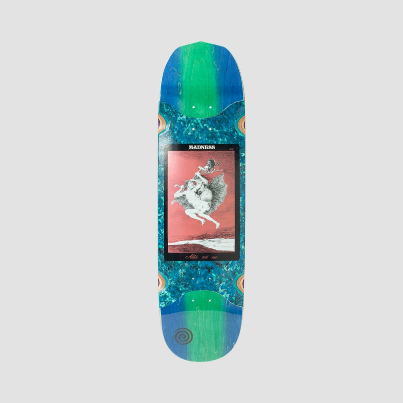 Madness Alla Rip Slick On Middle Section Deck Blue/Green - 8.5""