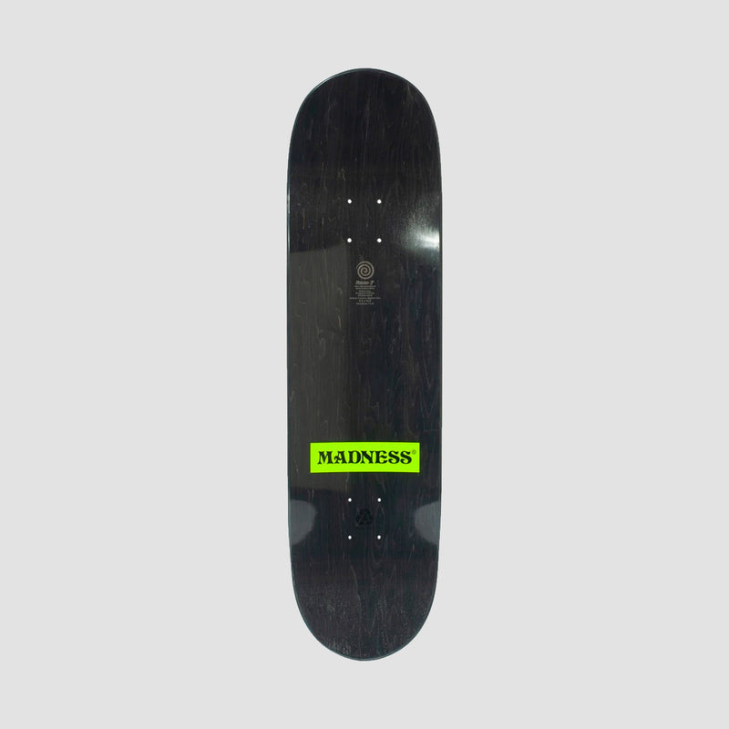 Madness Side Eye R7 Deck Neon Yellow - 8.5""