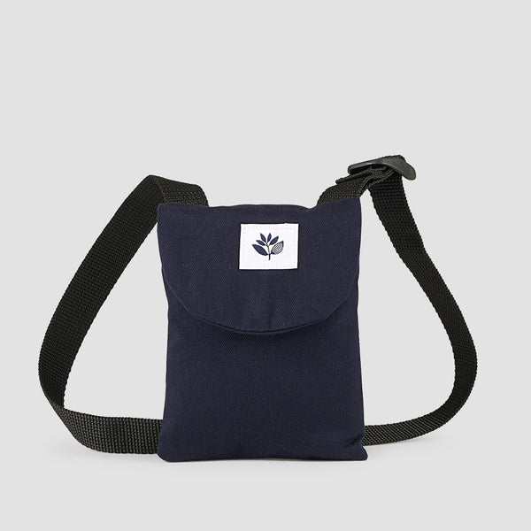 Magenta Pouch Navy - Accessories
