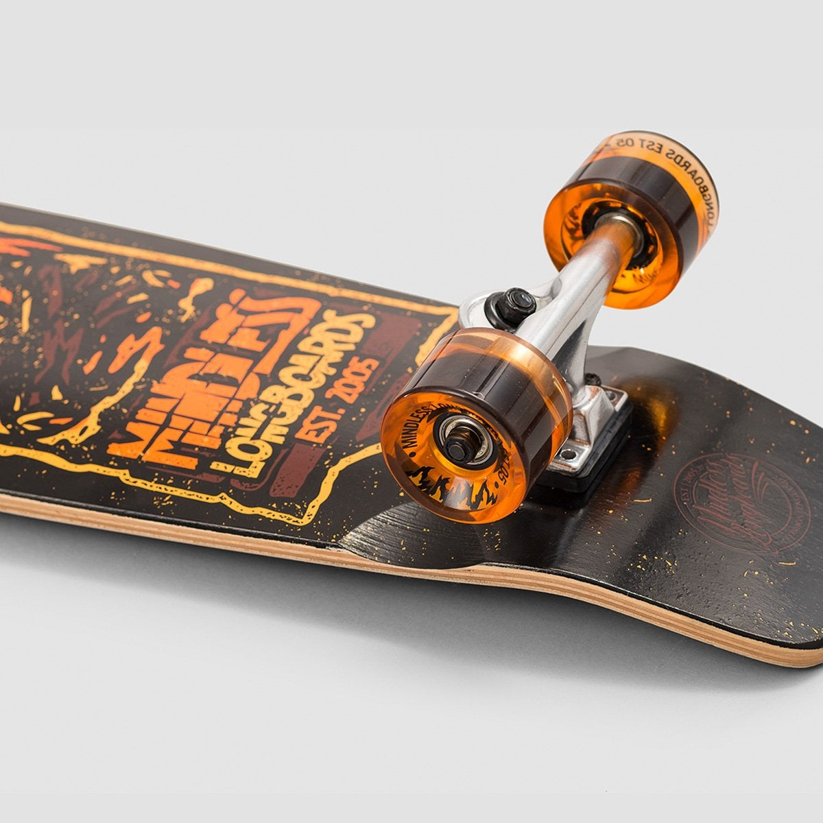 Mindless Campus 4 Cruiser Orange - 28 - Skateboard