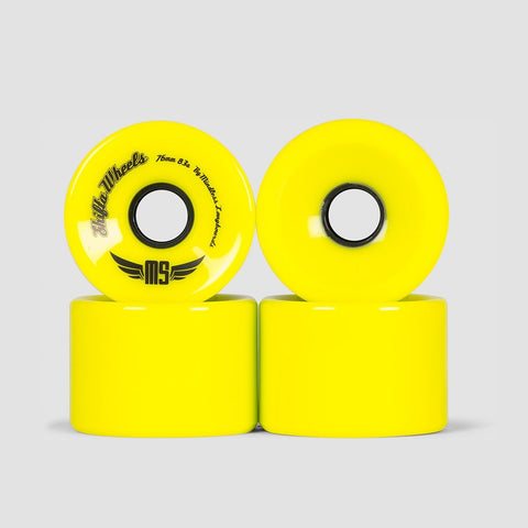 Mindless Shifta Wheels Yellow - 76mm
