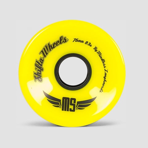 Mindless Shifta Wheels Yellow - 76mm - Skateboard