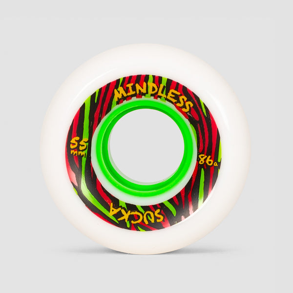 Mindless Sucka Wheels White 55mm