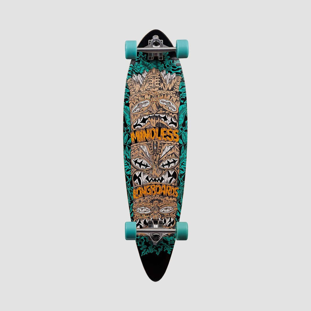Mindless Tribal Rogue IV Longboard Complete Green - 38 - Skateboard