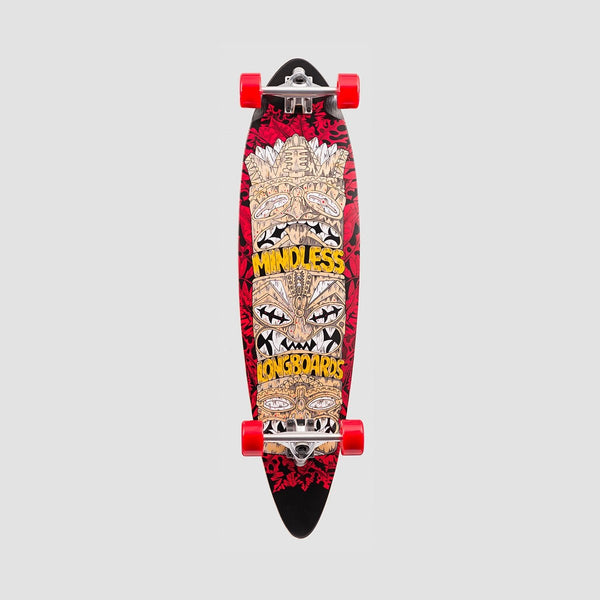 Mindless Tribal Rogue IV Longboard Red - 38 - Skateboard