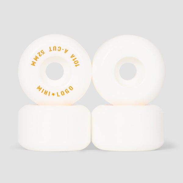 Mini Logo A-Cut 2 101a Wheels White 52mm