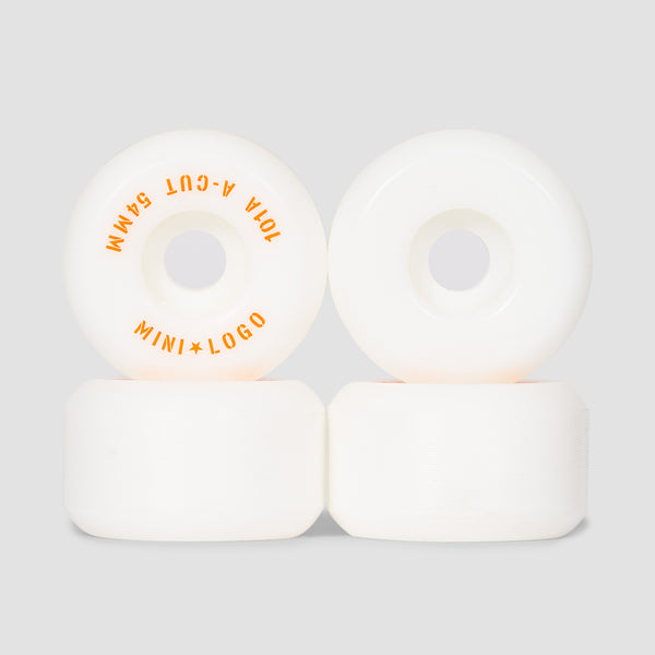 Mini Logo A-Cut 2 101a Wheels White 54mm