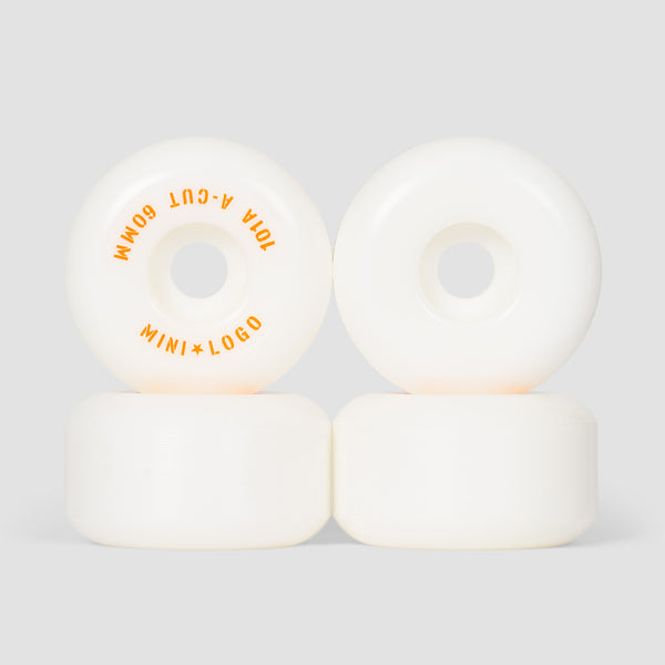 Mini Logo A-Cut 2 101a Wheels White 60mm