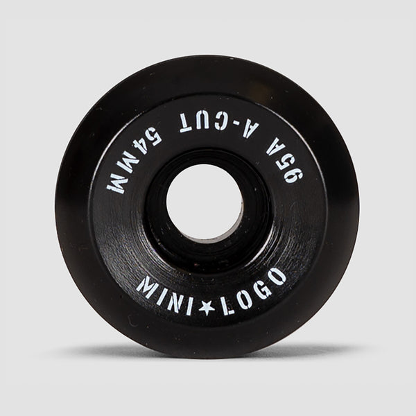 Mini Logo A-Cut 2 95a Hybrid Wheels Black 54mm