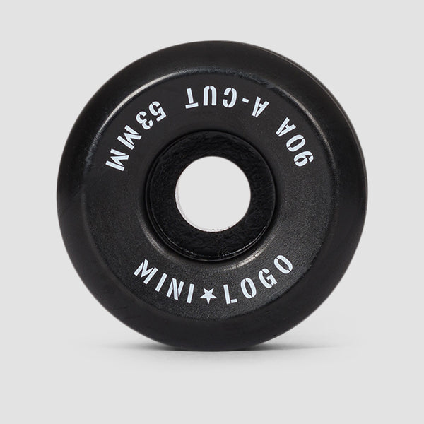 Mini Logo A-Cut 2 Hybrid 90a Wheels Black 53mm