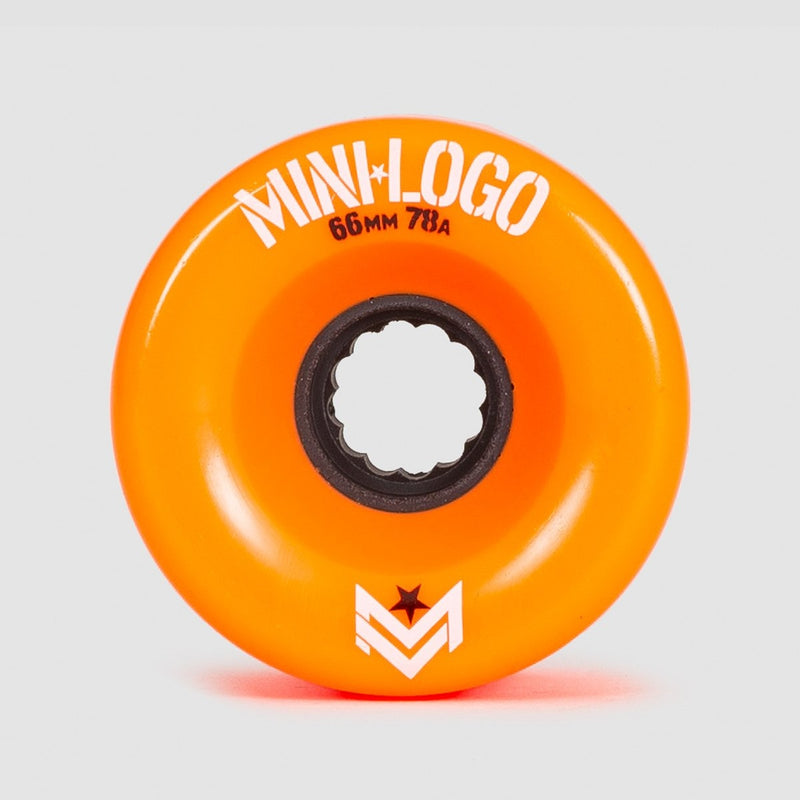 Mini Logo A-Cut A.W.O.L. 78A Wheels Orange 66mm - Skateboard