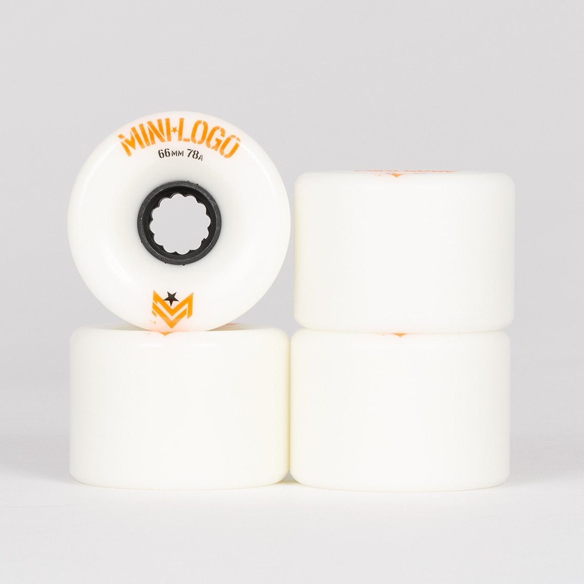 Mini Logo A-Cut A.W.O.L. 78A Wheels White 66mm - Skateboard