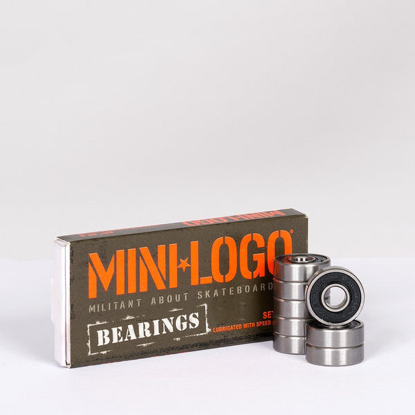 Mini Logo Bearings x8 - Skateboard
