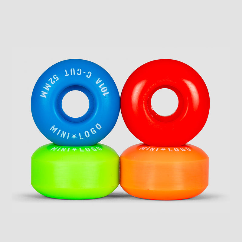 Mini Logo C-Cut 2 101a Wheels Assorted 52mm