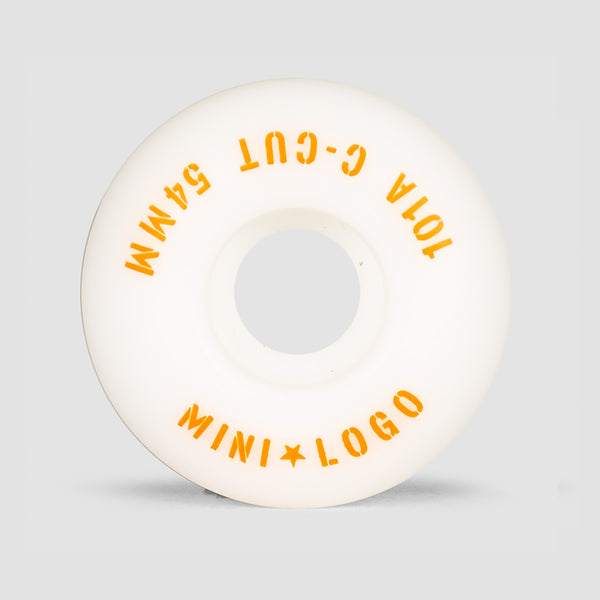 Mini Logo C-Cut 2 101a Wheels White 54mm