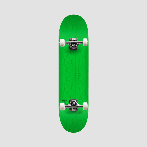 Mini Logo Chevron Detonator 242 Birch Pre-Built Complete Dyed Green - 8""