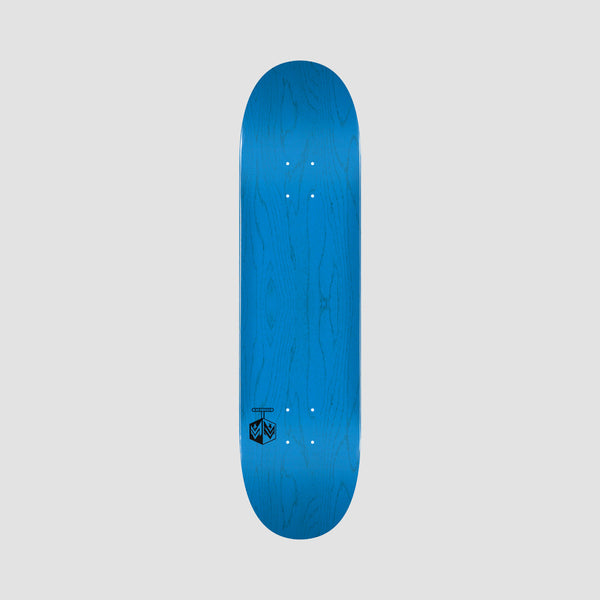 Mini Logo Chevron Detonator 291 Birch Deck Dyed Blue - 7.75""