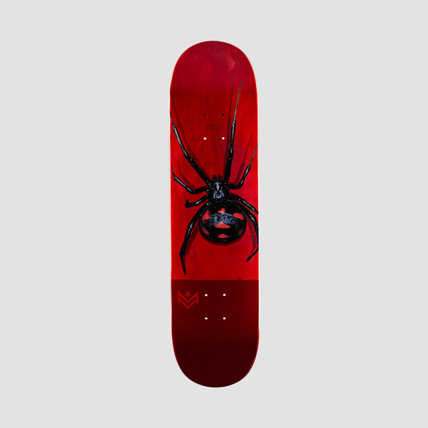 Mini Logo Poison Black Widow 242 Birch Deck - 8""