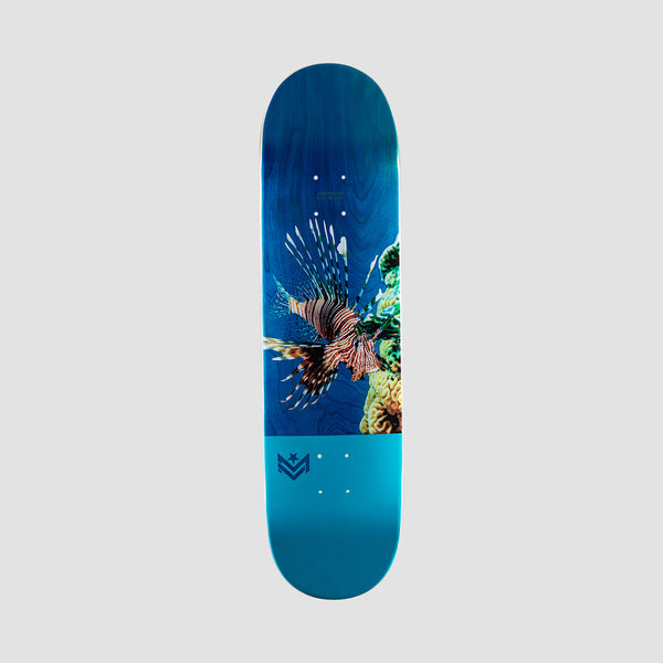 Mini Logo Poison Lion Fish 243 Birch Deck - 8.25""