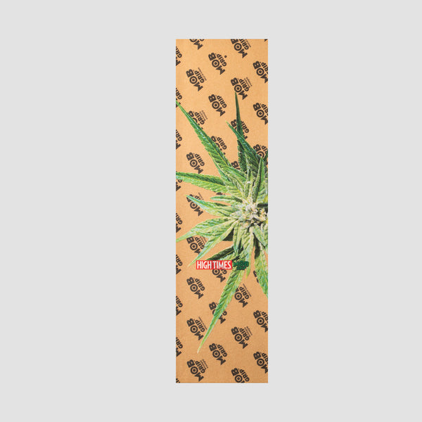 MOB High Times Star Grip Tape Clear - 9""