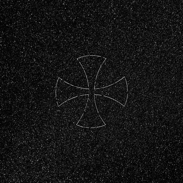 MOB Independent Laser Cut Cross Grip Tape Black - 9""