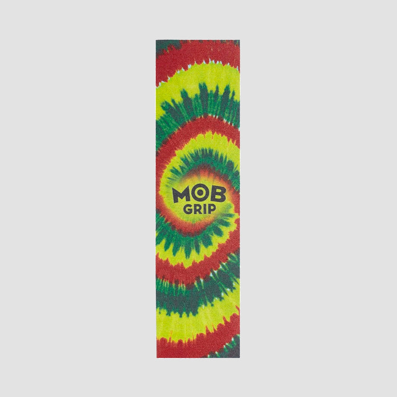MOB Tie Dye Grip Tape Red/Yellow/Green - 9""