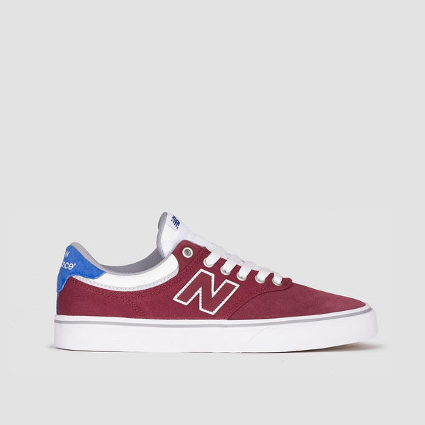 New Balance 255 Burgundy/Royal Blue/White - Footwear
