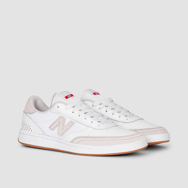 New Balance 440 White/Red
