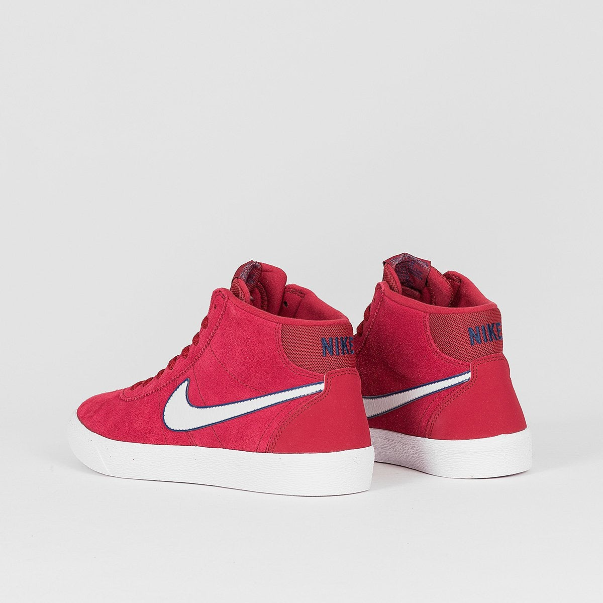 Nike SB Bruin Hi Red Crush/Vast Grey/White - Womens - Footwear