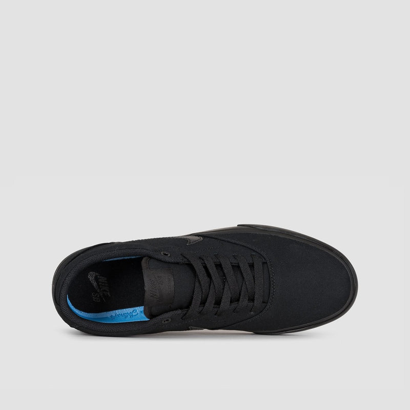 Nike SB Charge Canvas Black/Black/Black - Unisex L - Footwear