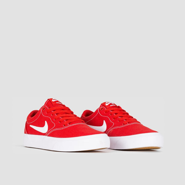 Nike SB Charge Canvas Mystic Red/White - Kids - Footwear