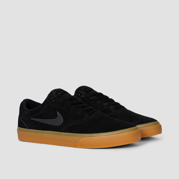 Nike SB Charge Suede Black/Anthracite/Black/Gum Light Brown - Unisex L
