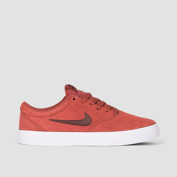 Nike SB Charge Suede Claystone Red/Mystic Dates/Claystone Red - Unisex L