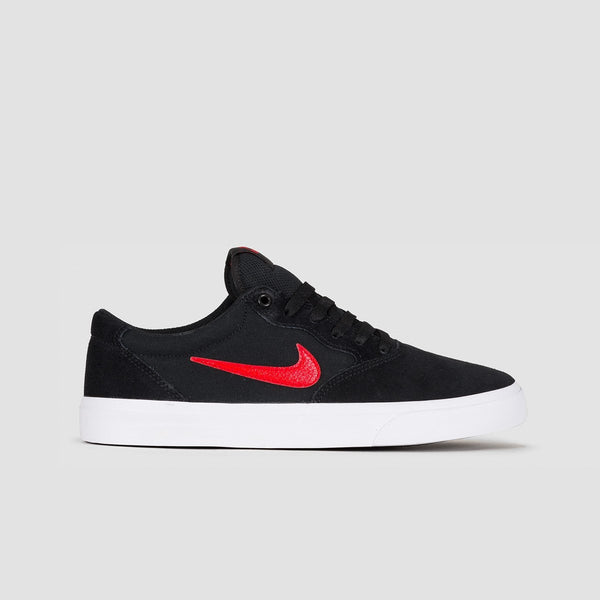 Nike SB Chron Solarsoft Black/University Red - Unisex L - Footwear