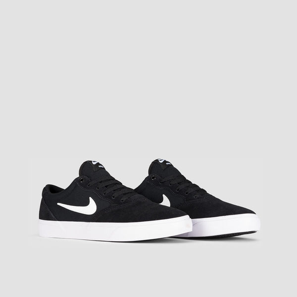 Nike SB Chron Solarsoft Black/White - Unisex L - Footwear