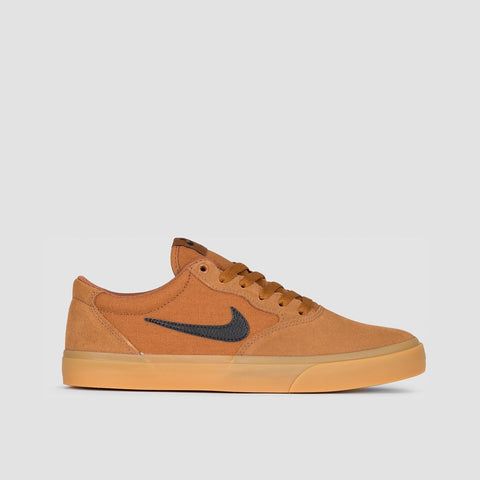 Nike SB Chron Solarsoft Light British Tan/Black/Gum Light Brown - Unisex L