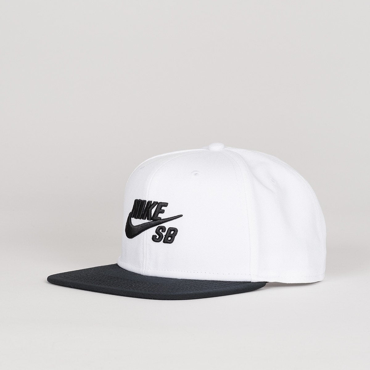 Nike SB Icon Pro Snapback Cap White/Black/Black/Black - Unisex - Accessories