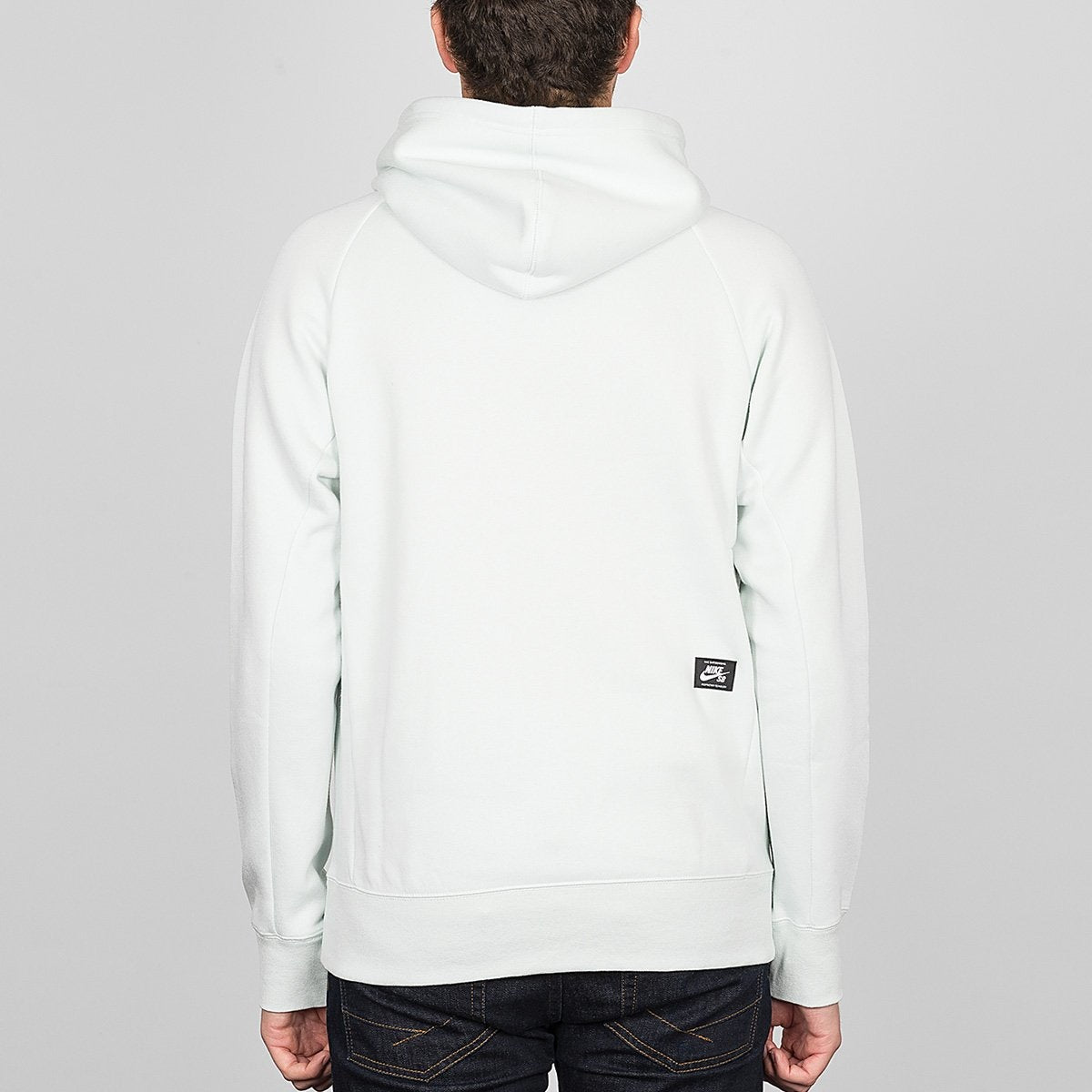Nike SB Icon Pullover Hood Barely Grey/White - Clothing