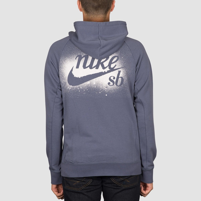 Nike SB Icon Pullover Hood Obsidian/White - Clothing