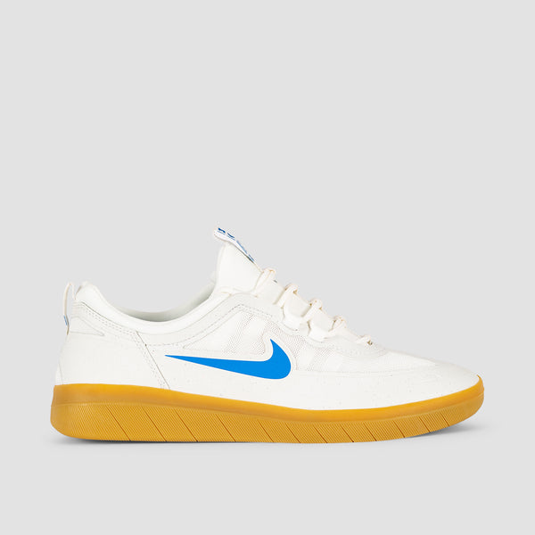 Nike SB Nyjah Free 2 Summit White/Light Photo Blue - Unisex L