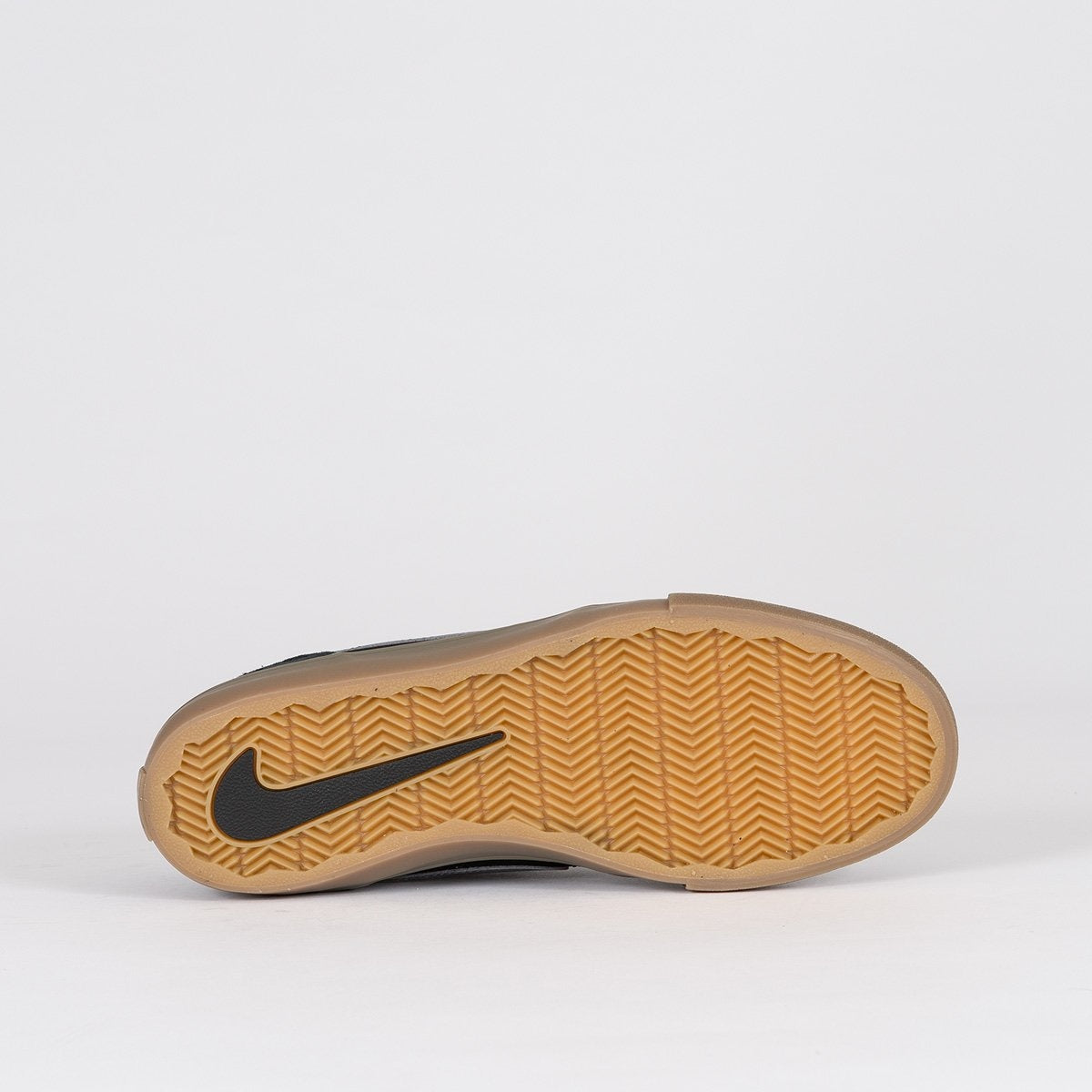 Nike SB Portmore II Solar Black/Dark Grey/Gum Light Brown - Unisex L - Footwear