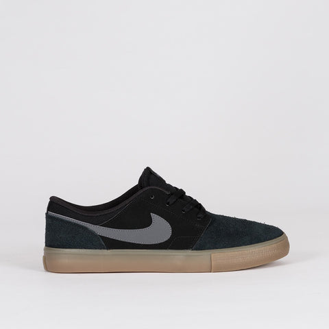 Nike SB Portmore II Solar Black/Dark Grey/Gum Light Brown - Unisex L