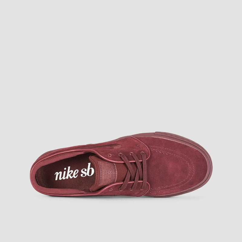 Nike SB Stefan Janoski Burgundy Crush/Burgundy Crush - Kids - Footwear