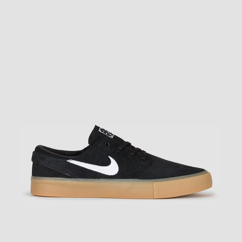 Nike SB Zoom Janoski RM Black/White/Black/Gum Light Brown - Unisex L